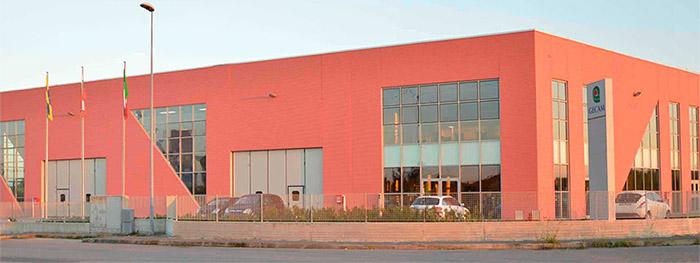 Завод компании Gecam в Италии