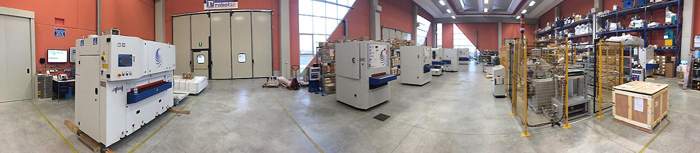 Производственный цех Gecam в Италии