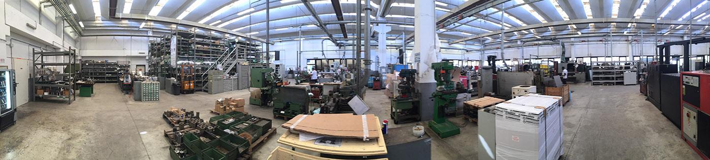 Производственные цеха Gennelli Allori в Италии