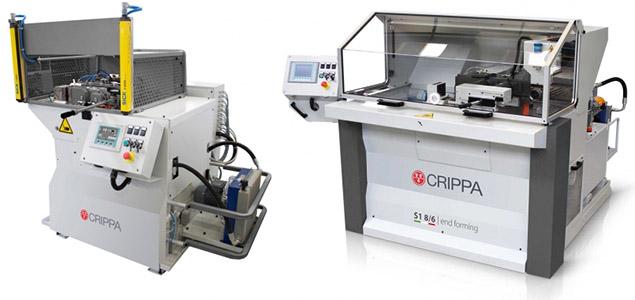 Автоматические станки для формовки труб CRIPPA