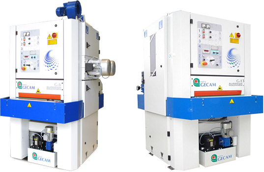 Шлифовально-зачистные станки GECAM серии G6-G13 на водной основе