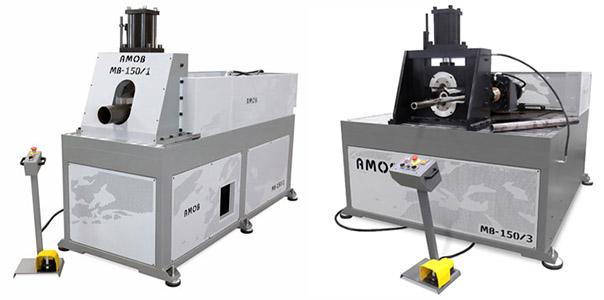 Полуавтоматические станки для формовки труб AMOB MB