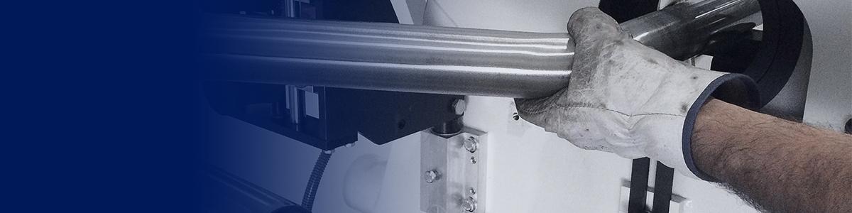 Оборудование для шлифования труб